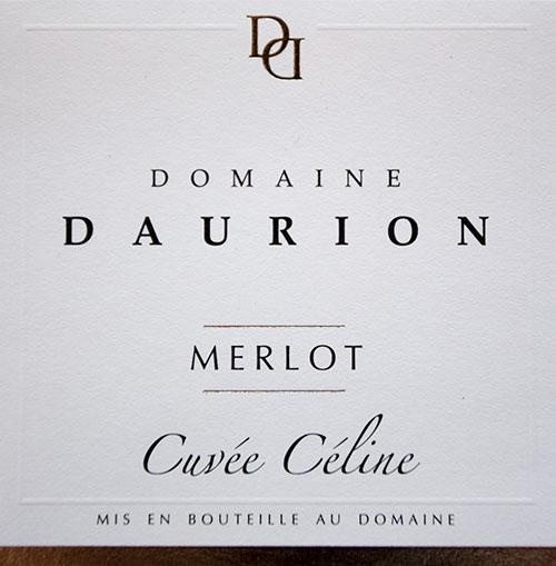 Cuvée Céline – Merlot