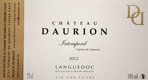 Château Daurion – Intemporel – Caprice de Vigneron